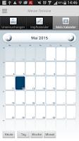 Screenshot of Schwangerschafts-App der HEK