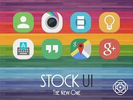 Screenshot of Stock UI - Icon Pack