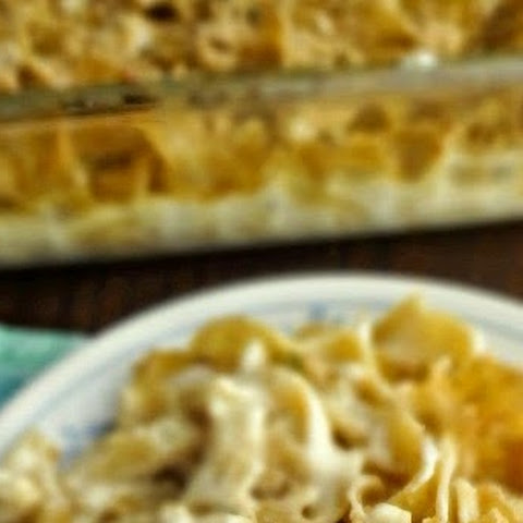 Chicken Noodle Casserole {from scratch}