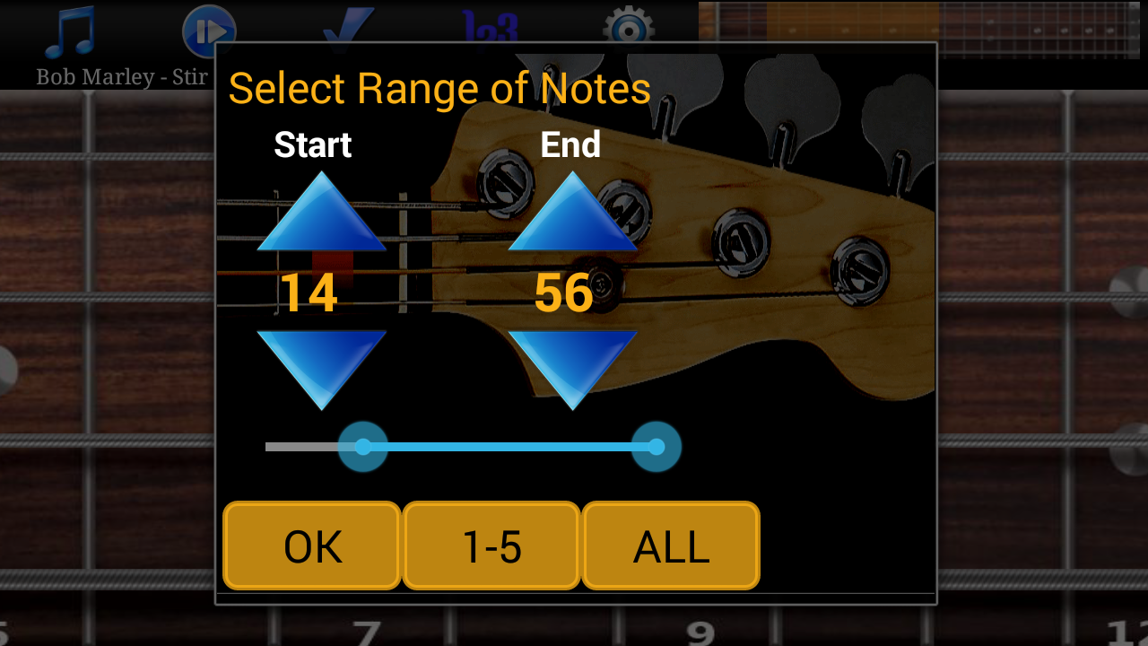 Bass Guitar Tutor Pro Screenshot 5