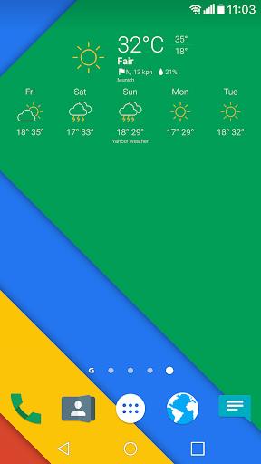 Curv Weather Icons for Chronus - screenshot