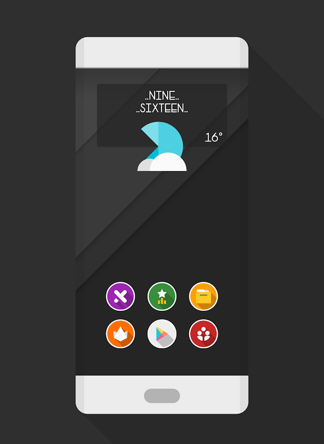 ROUNDEX - ICON PACK Screenshot 2