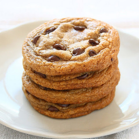 Soft Dark Brown Sugar Chocolate Chip Cookies