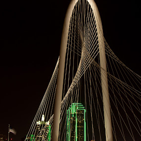 Margaret Hunt Hill Bridge, Dallas TX by Patricia Konyha - Buildings & Architecture Bridges & Suspended Structures