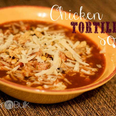 Chicken Tortilla Soup (My Husband's Favorite Recipe!)