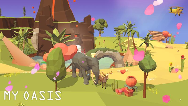My Oasis - Calming and Relaxing Incremental Game Screenshot 3