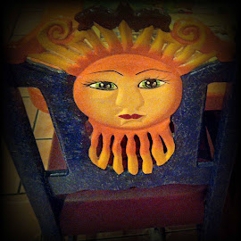 Sun Chair by Cecilia Sterling - Artistic Objects Furniture