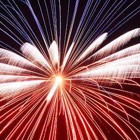 by Fresco Jr Linga - Abstract Fire & Fireworks
