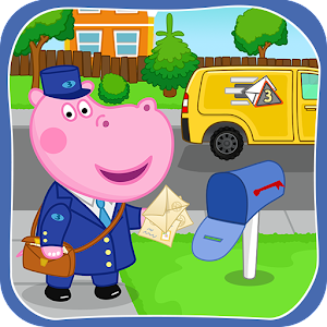 Post office game: Professions Postman Icon