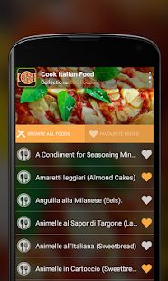 Cook Italian Food - screenshot