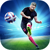 Soccer World League FreeKick Icon