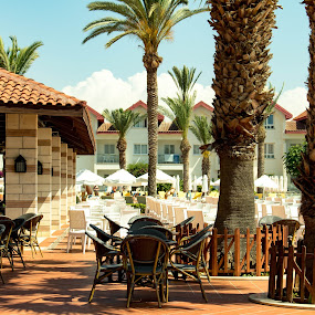 Sitting Area by Meeta Thakur - City,  Street & Park  Markets & Shops ( rest, city, enjoy, cyprus, holiday )