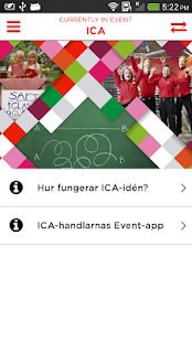 ICA-handlarnas Event - screenshot
