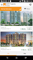 Screenshot of Real Estate Property in India