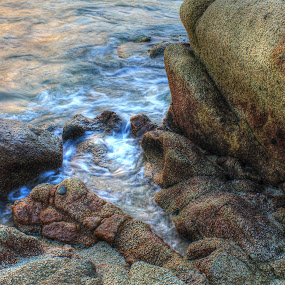 on beach by Firmansyah Goma - Nature Up Close Rock & Stone ( beach,  )