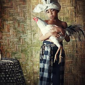 My chicken by Tu Eka - Babies & Children Children Candids