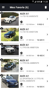 app la centrale voiture occasion apk for windows phone android games and apps. Black Bedroom Furniture Sets. Home Design Ideas