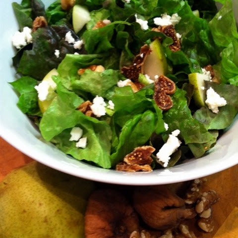 Fig and Pear Salad