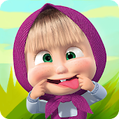 Download Masha and the Bear Child Games APK on PC