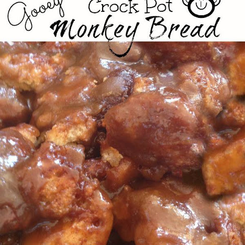 Gooey Crock Pot Monkey Bread