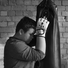 Rest after training by Silent Exile - Sports & Fitness Boxing ( sports, boxing, martial arts )