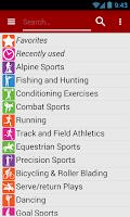 Screenshot of Calories! calorie counter