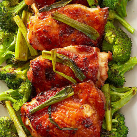 Mahogany Chicken and Broccoli