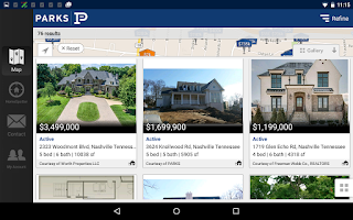 Screenshot of Parks – Nashville Homes