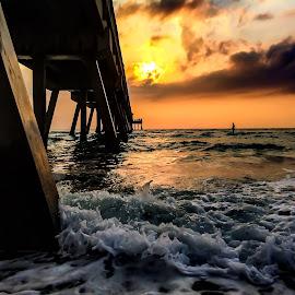 Beach Sunrise by Etta Cox - Instagram & Mobile iPhone