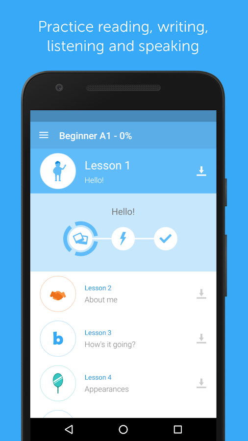 busuu - Easy Language Learning Screenshot 1