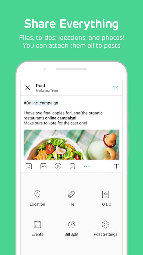 BAND - Organize your groups screenshot 4