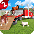 Off-Road Animal Transport Truck Driver 3D 2