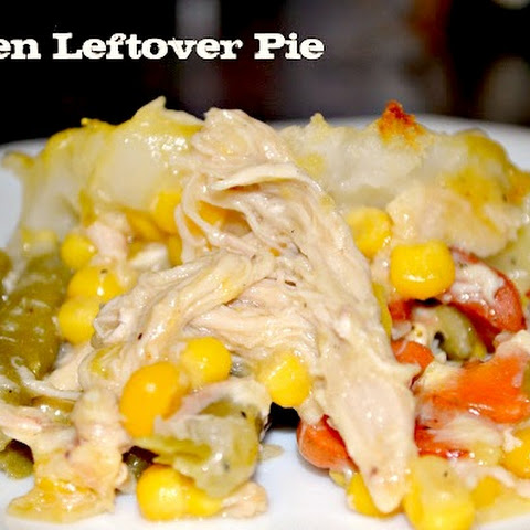 Heart Healthy Leftover Chicken and Vegetable Pie