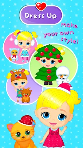 android Lily & Kitty Baby Christmas Screenshot 4
