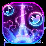 Neon Pairs Eiffel Tower Theme ✨ Icon