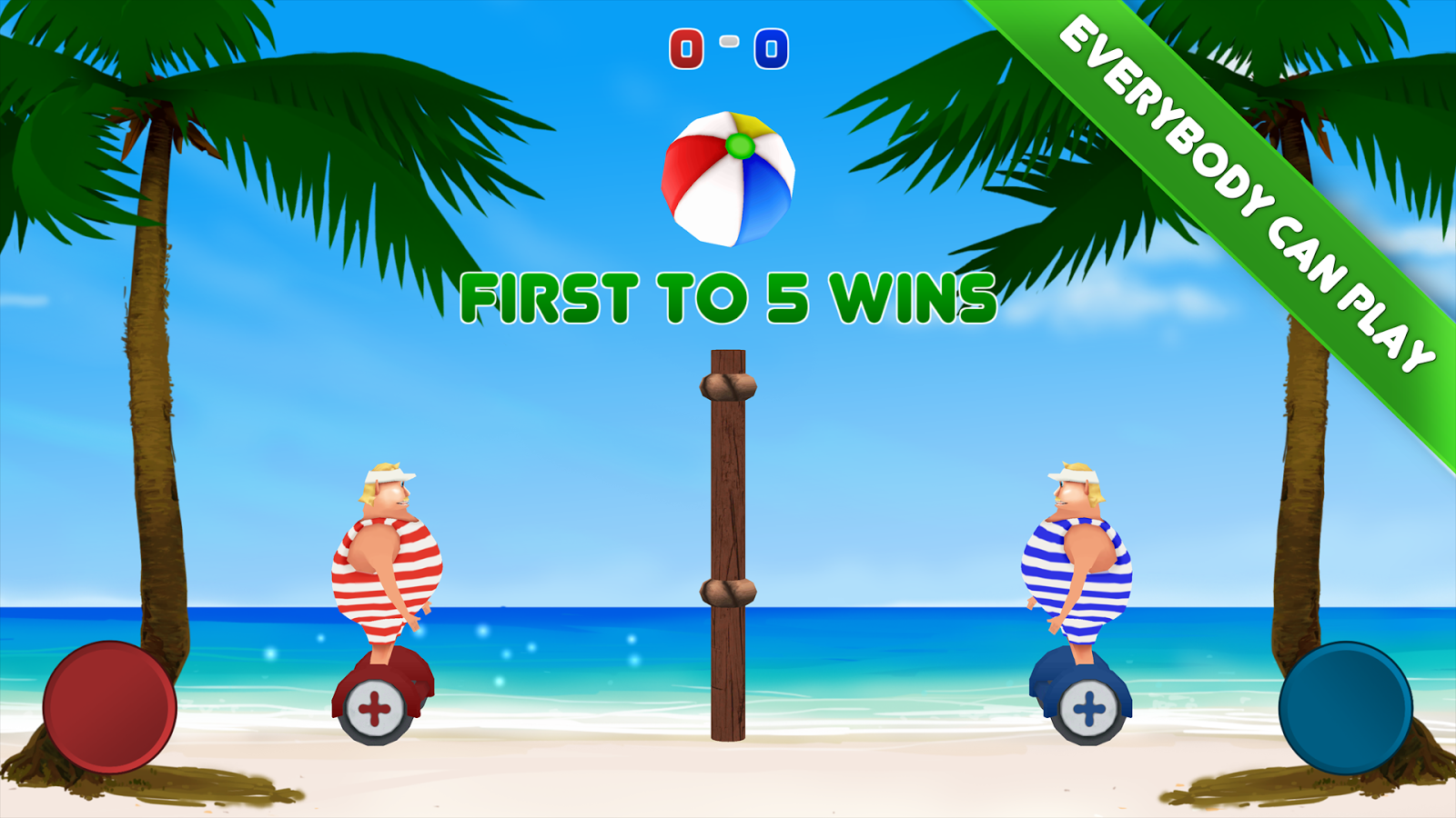 Volley Sumos - Versus game Screenshot 2
