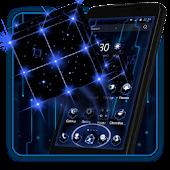 3D Tech Neon Cube Theme APK for Blackberry