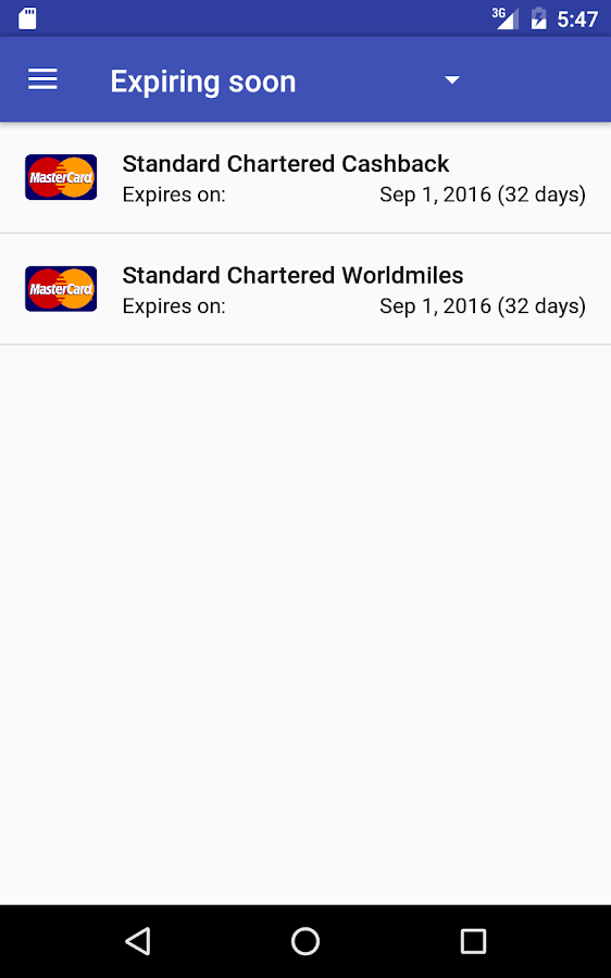 Credit Card Manager Pro Screenshot 15