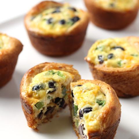 Grab and Go Black Bean Quiche