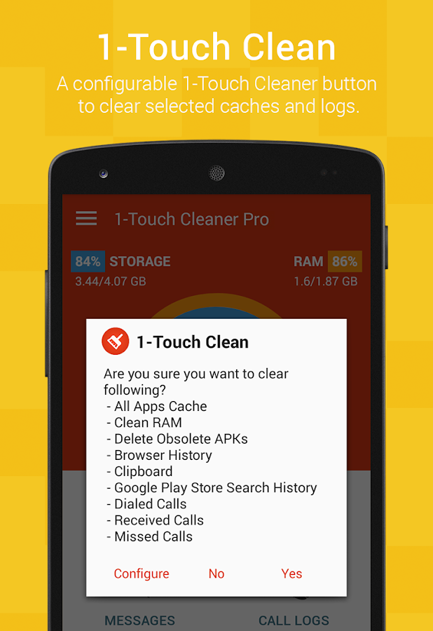 1-Touch Cleaner (Booster) Pro Screenshot 4