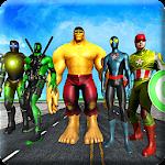 Superheroes vs Robots Battle - Zombie Aliens Fight Icon