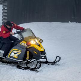 It's Fun by Adhi Rachdian - Sports & Fitness Snow Sports ( sky, winter, snow, sport, fun,  )