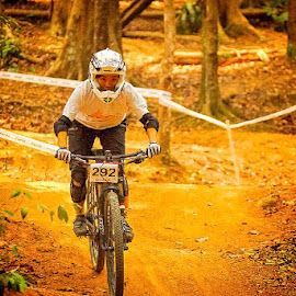 MTB Carnival - Women by Chin KK - Sports & Fitness Other Sports ( mandai, mtb, trail, helmet, women )