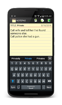 Notepad APK screenshot thumbnail 6