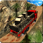 Offroad Truck Hill Driving 3D Icon