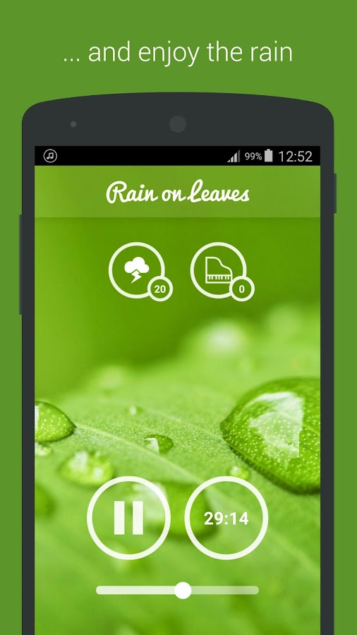 Rain Sounds - Sleep & Relax Screenshot 3