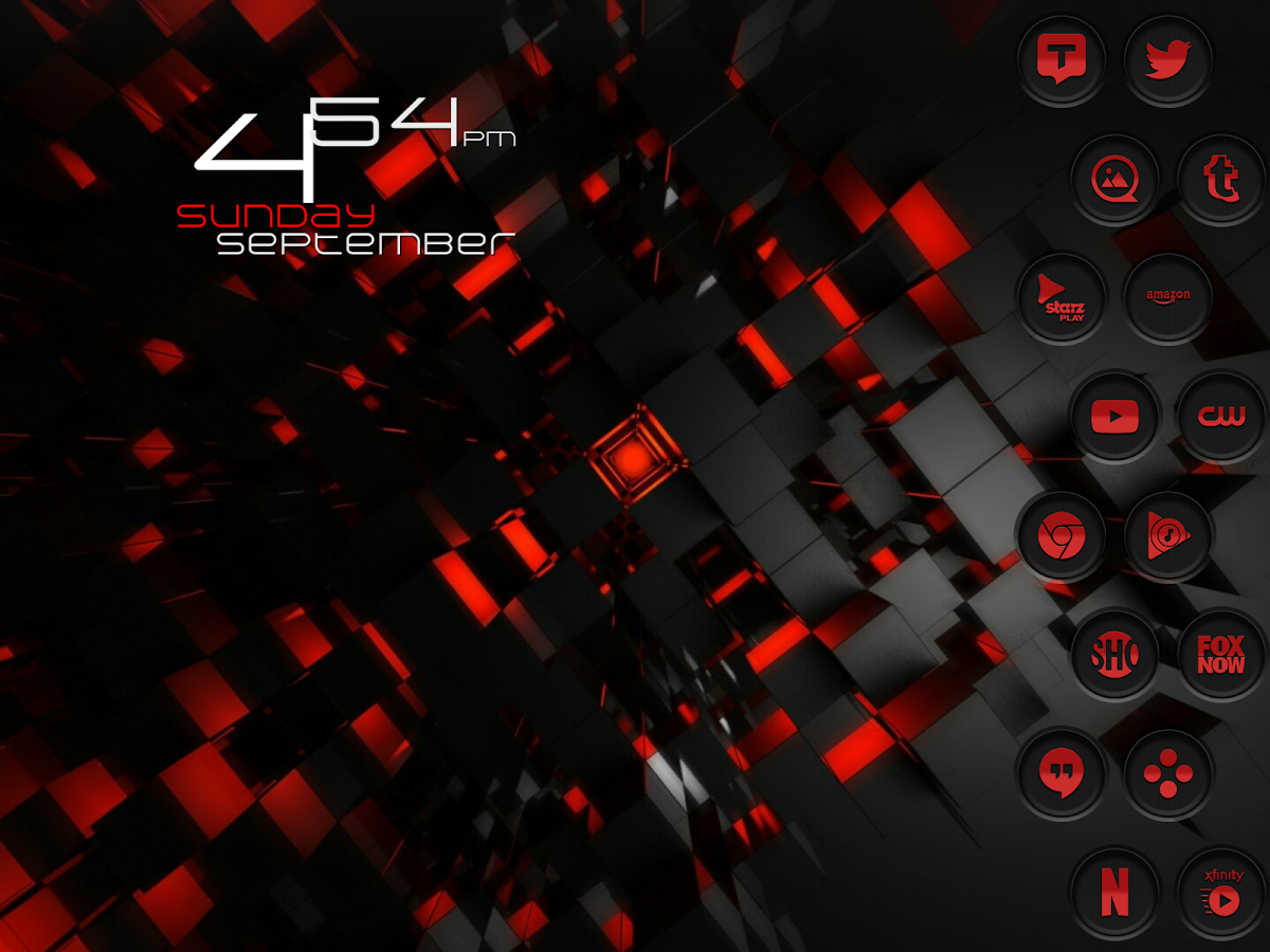 Jaron XE Red Icon Pack Screenshot 13