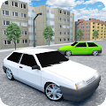 Russian Cars: 8 in City APK for Bluestacks
