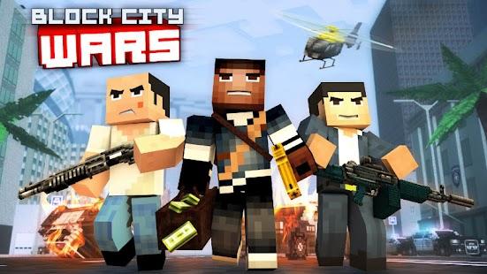 Block City Wars + skins export APK for Bluestacks