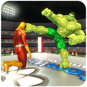 Superheroes Wrestling : Tag Team Ring Fighting For PC / Windows 7/8/10 / Mac – Free Download
